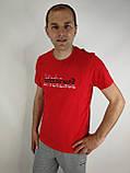 Красная мужская футболка, фото 3