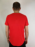 Красная мужская футболка, фото 4