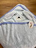 Полотенце уголок  для купания  детское  Koloco 80*80, фото 5