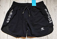 Женские шорты Adidas, черные (копия) / шорты адидас