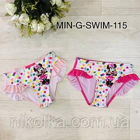 Плавательные трусики для девочек оптом, Disney, 2-6 лет, арт. MIN-G-SWIM-115