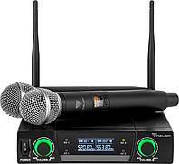 Двоканальний бездротовий мікрофон Azusa JU-822