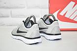 Сірі легкі кросівки в стилі Nike Free Run 3.0 унісекс, фото 5
