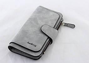 Гаманець, портмоне Baellerry N2345 (Сірий)