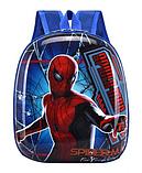 Рюкзак детский синий Spider-Man, фото 2