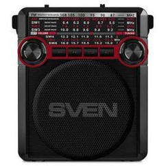 Радиоприемник Sven SRP-355 Black/Red UAH