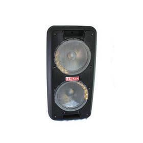 Портативная колонка Su-Kam 1010 + 2 беспроводных микрофона + Bluetooth (12v   220v)