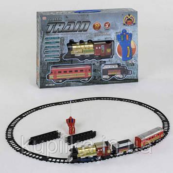 Радиоуправляемая детская железная дорога со световыми и звуковыми эффектами 39 (длина путей 420 см)