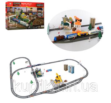 Детская железная дорога с водной станцией, поездом и аксессуарами 2087 (длина путей 670 см)