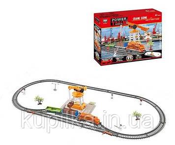 Набор игровой для мальчиков железная дорога со звуковыми эффектами, с регулировкой скорости 20819