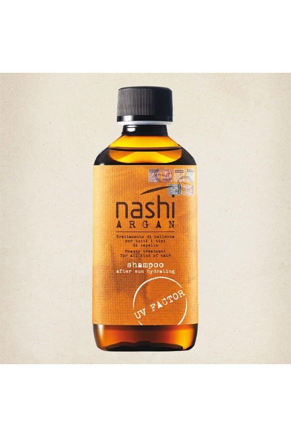 Nashi Argan Shampoo After Sun Hydrating Шампунь увлажняющий после солнца 200 мл