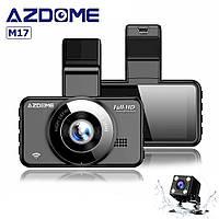Видеорегистратор Azdome M17 с дополнительной камерой