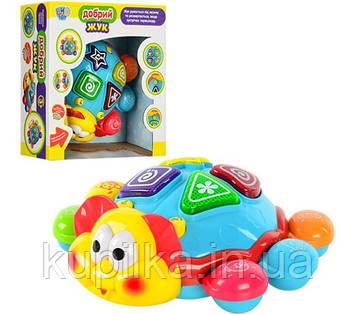 Развивающая музыкальная игрушка Limo Toy 7013 «Танцующий жук» с световыми и звуковыми эффектами, ездит