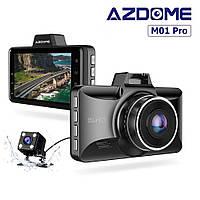 Видеорегистратор Azdome M01 Pro с дополнительной камерой