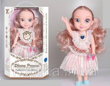 Куколка с длинными волосами в нарядном платье с аксессуарами для девочек YL 005 A-5