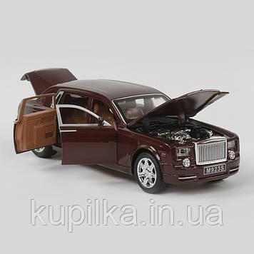 Машинка металлическая EL 2566 ТК Group класса Rolls-Royce с открывающимися дверями, (2 цвета), свет, звук