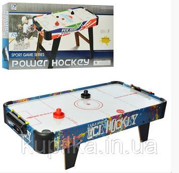 Настольный воздушный хоккей для детей и взрослых со шкалой ведения счета ZC 3005 B работает от батареек