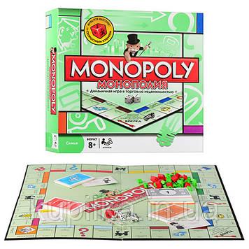 Настольная игра «Монополия» для взрослых и детей старше 7-ми лет на русском языке 6123