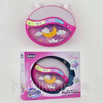 Музыкальный ночник для ребенка 999-108G со звуковыми и световыми эффектами