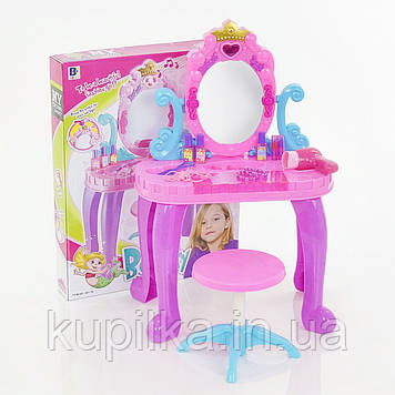 Детское игровое функциональное трюмо с зеркалом и аксессуарами 661-39