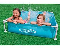Intex 57173, каркасный детский бассейн, 122х122х30см