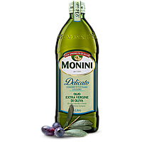 Оливковое масло Монини Monini Delicato, 1 л.