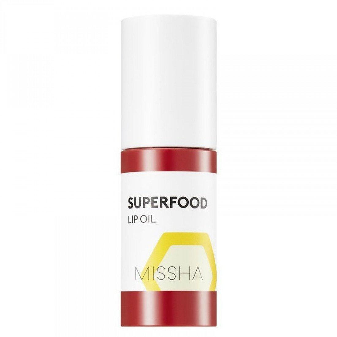 Масло для губ з медом MISSHA SUPERFOOD HONEY LIP OIL - 5,2 г