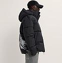 Тепла зимова чоловіча куртка з принтом ZARA Зара (Розмір XL) Оригінал, фото 3