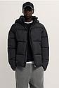 Тепла зимова чоловіча куртка з принтом ZARA Зара (Розмір XL) Оригінал, фото 6