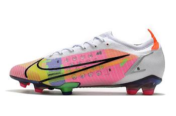 Бутсы Nike Mercurial Vapor 14 Elite FG white/pink