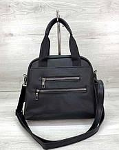 Прочная женская сумка из нейлона Aliri-620-04 черная
