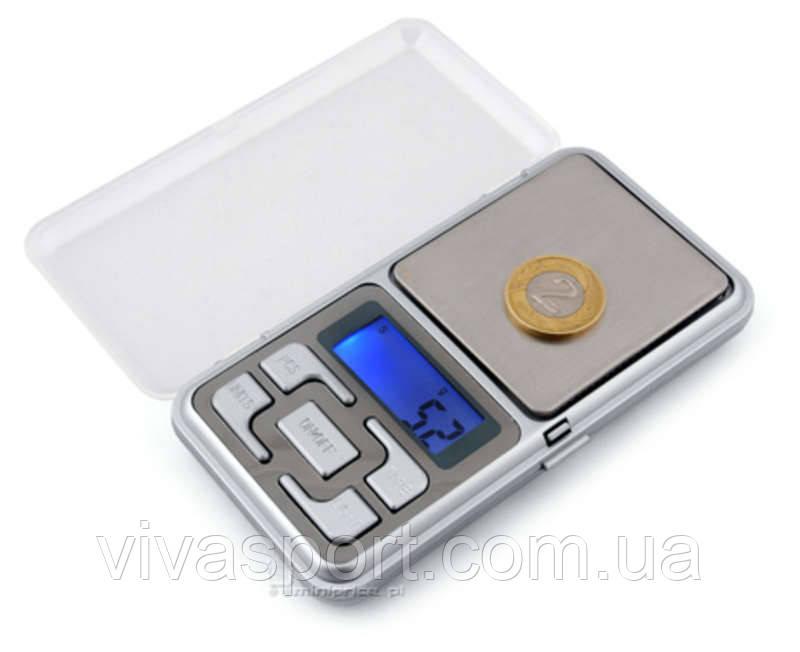 Ювелирные карманные весы Покэт Скейл (Pocket Scale) MH 500 до 500 грамм
