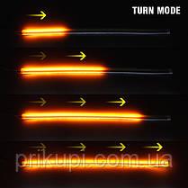 Динамическая LED подсветка багажника, гибкая светодиодная лента на багажник с бегущим поворотом -, фото 2