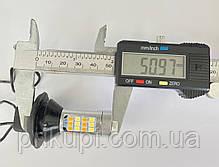 Светодиодная LED лампа ДХО с поворотом S25-066 DRL+TL 2835-42, фото 2