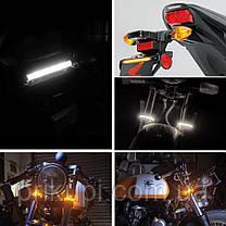 Светодиодная полоса ходовые огни с поворотником, ДХО 36 SMD 3014, 12 см, 12В, 1шт, фото 2