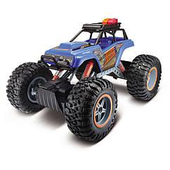 Автомодель на р/у Maisto Rock Crawler 3XL синяя (81157 Blue)