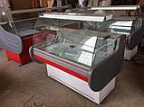 """Вітрина холодильна середньотемпературна """"Ліра М -2.0"""" гнуте скло, фото 2"""