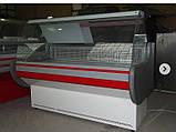 """Вітрина холодильна середньотемпературна """"Ліра М -2.0"""" гнуте скло, фото 4"""