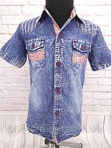 Джинсова сорочка на хлопчика Tombis