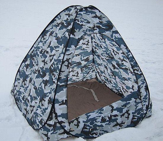 зимняя самораскладывающаяся палатка