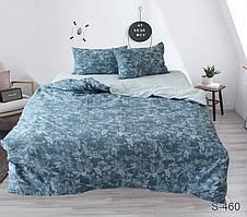 Семейный комплект постельного белья сатин люкс с компаньоном S460