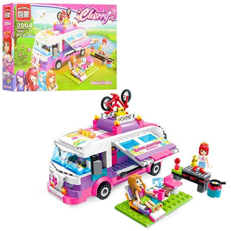 """Конструктор """"Brick"""" пікнік,автобус, фігурки,319 дет., 2004"""