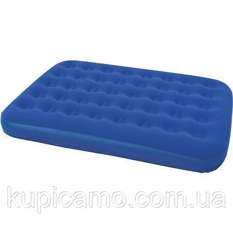 Надувной матрас Велюровый Bestway 67002 синий, 191-137-22см синий