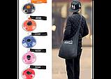 Складная компактная сумка-шоппер Shopping Bag To Roll Up, фото 2
