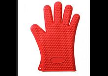Жаростійка силіконова рукавиця