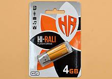 Флеш-память USB Hi-Rali 4 Gb (3 года гарантии)