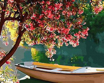 Картины по номерам 40х50 см Brushme Цветущий берег (GX 34147)