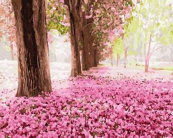 Картины по номерам 40х50 см Brushme Весенний парк (GX 34230)