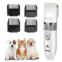 Машинка для стрижки животных Gemei GM-634 USB - Профессиональная машинка для стрижки собак и кошек! Хороший