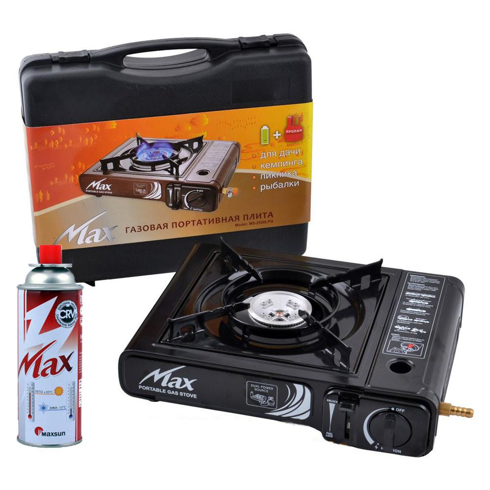 Газовая плита портативная для туризма Max Korea